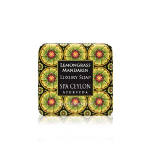 LEMONGRASS MANDARIN Luxury Soap 100g