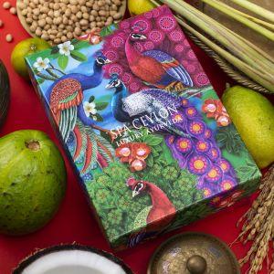 DIWALI PEACOCK GIFT BOX - LUXURY BALM COLLECTION