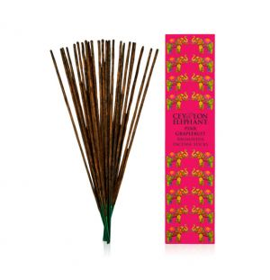 CEYLON PINK GRAPEFRUIT - Aromaveda Incense Sticks