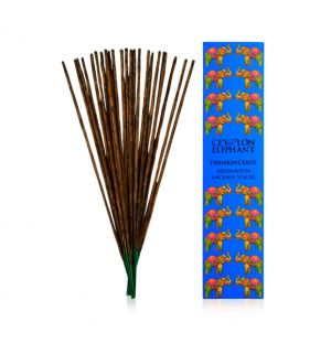 CEYLON FRANKINCENSE KAFFIR LIME - Aromaveda Incense Sticks