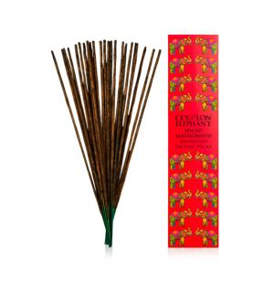 CEYLON SPICED SANDALWOOD - Aromaveda Incense Sticks
