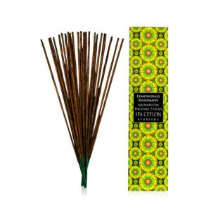 LEMONGRASS & MANDARIN - Aromaveda Incense Stick
