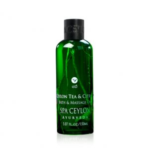 CEYLON TEA & CITRON - Bath & Massage Oil 150ml