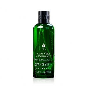 ALOE VERA & PANDANUS - Massage & Bath Oil 150ml