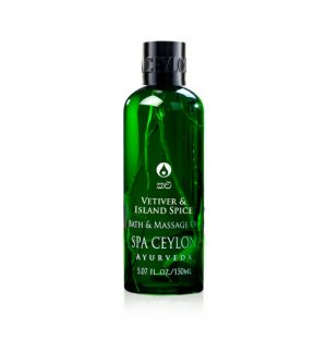 VETIVER & ISLAND SPICE - Massage & Bath Oil 150ml