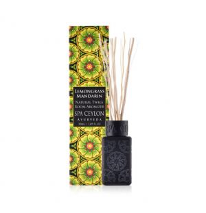 LEMON GRASS MANDARIN  - Natural Twigs Room Aromizer