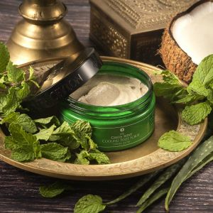 GREEN MINT - Cooling Foot Scrub 200g
