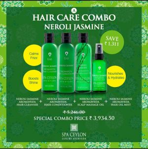 NEROLI JASMINE - Scalp & Hair Care combo Set
