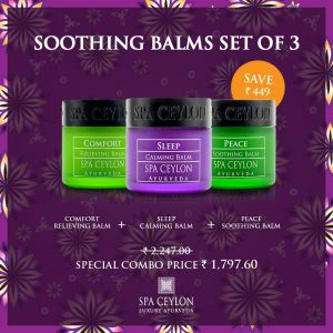LUXURY  SOOTHING BALM SET OF 3