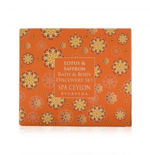 LOTUS & SAFFRON - Bath & Body Care Discovery Set